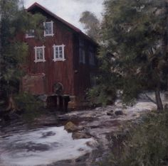 """Sawmill"" oil, 2012 - Zacheriah Kramer"