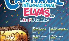 Carnaval nas ruas de Elvas, de 12 a 17 de Fevereiro