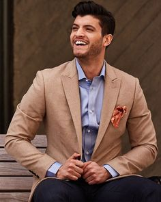 Eph Apparel (@ephapparel) • Instagram photos and videos Tan Suit Wedding, Suit And Tie, Office Wear, Work Wear, Flannel, Suit Jacket, Blazer, Mens Fashion, Photo And Video