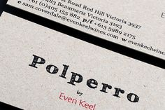 Polperro by Even Keel , Identity, Packaging & Photography by Plug2studio