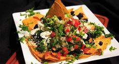 Black Bean Nachos - Lekha Foods - World Recipes