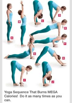 Mega Calorie Burning Yoga Sequence