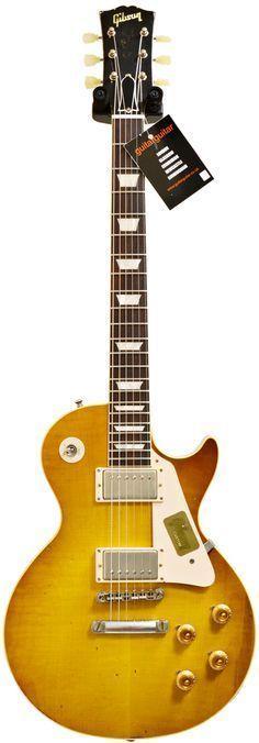 Gibson Collector's Choice 1959 Les Paul Dirty Lemon Confira aqui http://mundodemusicas.com/lojas-instrumentos/ as melhores lojas online de Instrumentos Musicais.