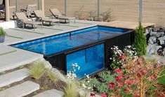 Mod pools shipping container pool