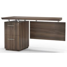 Found it at Wayfair Supply - Sterling Single Pedestal Executive Desk with File/File Single Pedestal