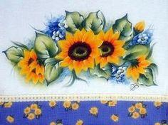 pintura em pano de prato_Pesquisa do Hao123