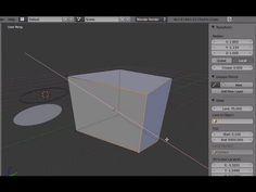 Tutorial Blender 3D 2.5 - Corso di base - 10: editing (Edit Mode): modificare struttura mesh - #BasiModellazioneEAnimazione #Blender #Blender3D25 #CorsoBlender #InterfacciaGrafica #LezioniBlender #Redbaron85 #Videotutorial http://wp.me/p7r4xK-cA