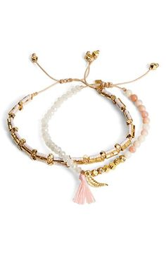 Chan Luu Braided Bracelets (Set of 2) available at #Nordstrom