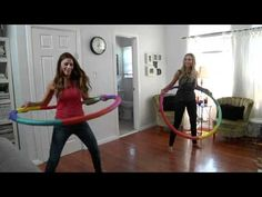 This hula hoop workout looks fun!