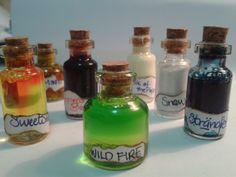 Game of Thrones Vials by ~valaina-williams on deviantART