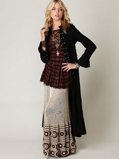 Crochet designer maxi skirt PATTERN boho maxi by STYLEcrocheting