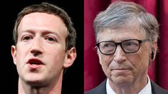 The founders of Microsoft and Facebook have cautionary words for the Class of 2017. Jobs being automated. Robots