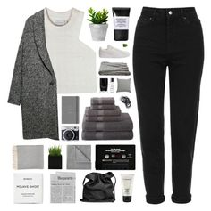 """""""he's right where i should, where i should be"""" by glued-together ❤ liked on Polyvore featuring Topshop, Puma, Shakuhachi, Violeta by Mango, JCPenney Home, Smashbox, Dot & Bo, MAC Cosmetics, Ethan Allen and Butter London"""