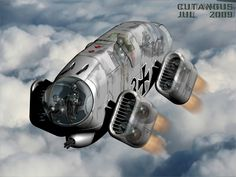The pilot is an electrohydraulic captain, and the nose and tail turrets are manned by similar mechanical crewmembers.  They have very high resistance to battle damage, and his precious brains, enclosed in armoured containers, can be recovered from the crashing site undamaged.  Some sort of terminator aircraft!  by CUTANGUS