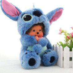 Is it ridiculous that I kind of WANT a MONCHHICHI STITCH?