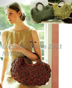 nice bag! Il love the stitch! With full Japanese pattern