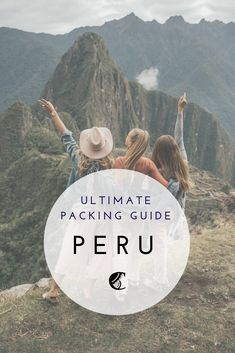 Trekkers Checklist - What to Pack for Peru — Acanela Expeditions Packing Checklist, Packing List For Travel, Travel Tips, Vacation Wishes, Adventures Abroad, Hiking Europe, Packing Clothes, Lake Titicaca, Andes Mountains