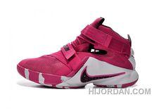 huge selection of d071f 96dbb Nike Zoom LeBron Soldier 9 Think Pink Black And White KFn5h, Price   95.00  - Air Jordan Shoes, Michael Jordan Shoes