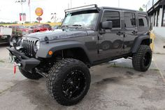 2014 Jeep Wrangler Unlimited. www.CustomTruckPartsInc.com is one of the largest Jeep Wrangler accessory retailer in Western Canada #LiftedJeep