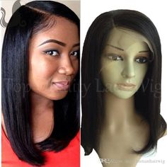 Italian Yaki Full Lace Wig Bob Virgin Brazilian Human Hair Lace Front Bob Wigs For Black Women Short Light Yaki Bob Wig Sidepart Cheap Human Hair Full Lace Wigs Remy Hair From Daisyhumanhairwig, $101.37| Dhgate.Com