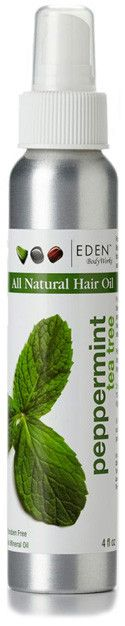 Peppermint Tea Tree Hair Oil | EDEN BodyWorks