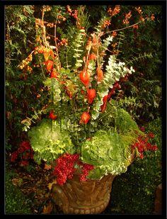Autumn Garden Container Designs by Tu outdoors Pinterest