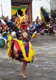 Paro Dancer, Bhutan