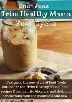 One-Week Fuel Cycle Menu: Post-Vacation Repair! via You, Me, and Nemo