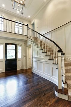 New Traditional Colonial. DeRosa Builders, Greenwich, CT.