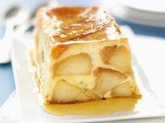 Avec les lectrices reporter de Femme Actuelle, découvrez les recettes de cuisine des internautes : Terrine de pommes au caramel