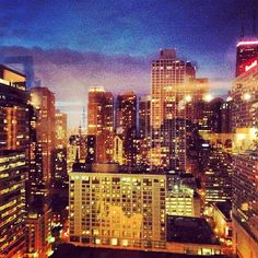 Guest Serena B. captured the view from International Hotel & Tower Chicago. Seattle Skyline, New York Skyline, Trump Chicago, Trump International Hotel, Chicago Hotels, Chicago River, Luxury Spa, Michigan, Tower