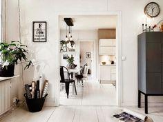 Consigue un estilo romántico, cálido y acogedor nórdico en blanco y negro