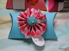 Pink Flamingo DP - Pillow Box