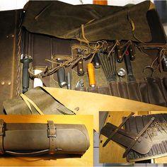 Leather knifebag