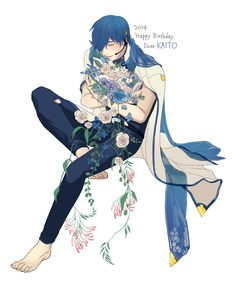 Kaito Shion, Vocaloid Kaito, Vocaloid Characters, Kawaii, Marvel, Fan Art, Artist, Artwork, Cute
