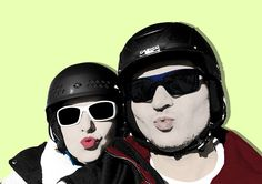 Fotografía coloreada BESOS de Su and Roll · Diseño gráfico y comunicación http://suandroll.com/ilustracion/