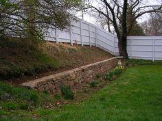Natural Stone Retaining Wall | Alan K. Shea Mason Contractor