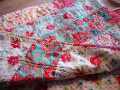 BTRS easy lap quilt from Leah by ImAGingerMonkey, via Flickr
