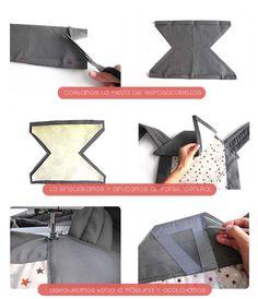 Cómo hacer un Mei Tai Portabebes - DIY