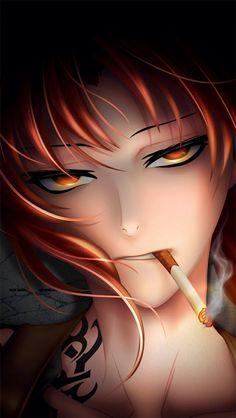 Best Anime HD Wallpapers on Page 5 Revy Black Lagoon, Black Lagoon Anime, Female Character Inspiration, Character Art, Rainbow Six Siege Anime, Fanart, Deadman Wonderland, Overwatch Fan Art, Dark Skin Girls