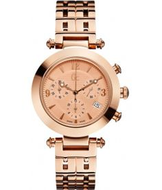 Buy Guess Collection Femme Bijou Women's Synthetic Sapphire Watch at online store Emporio Armani, Daniel Wellington, Rose Gold Watches, Women's Watches, Wrist Watches, Swiss Made Watches, Elegant Watches, Love Rose, Sport Chic