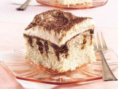 Easy Tiramisu  (poke cake recipes)  over 10 if you type poke cakes into the search line