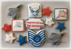 Airforce Retirement Cookies | Cookie Connection