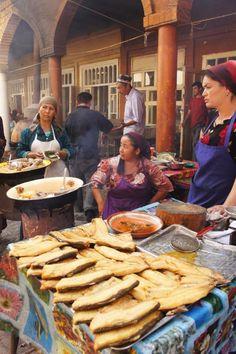 Urug Bazaar, near Samarkand