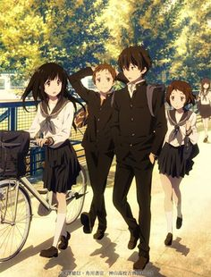 When it comes to detective-mystery anime that makes one think and formulate mind bogs on ends, Hyouka is one that fits the theme. And so, I've compiled more anime like Hyouka here for you to consider. Anime Love, M Anime, Anime Nerd, Otaku, Anime Cosplay, Kawaii Anime, Animes Online, Super Anime, Tamako Love Story