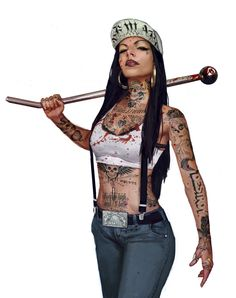 Topic: Punk – The Art of Stefan Koidl Character Portraits, Character Art, Estilo Chola, Arte Do Hip Hop, Chola Girl, Chola Style, Gangster Girl, Gangster Outfit, Art Manga