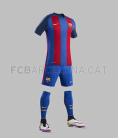 211c56ba625 New Nike Vapor home kit with AeroSwift technology reintroduces FC  Barcelona s traditional stripes in honor of the anniversary of the club s  triumphant ...