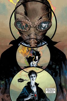 The Sandman: Overture #1 _____ Can't wait to start reading this