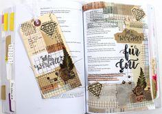Tutorial zu Psalm 8 – Vintagepapier und Wachssiegel in der Bibel bibleartjournaling.de mit Rebecca Sawatsky