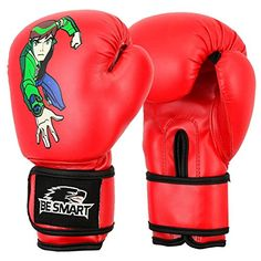 Spider-man Kids Boxing Gloves Junior Mitts 4oz, 6oz Punch…